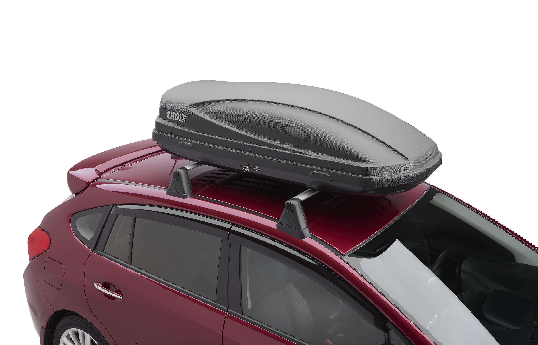 2016 Subaru Impreza Roof Cargo Carrier Provides Side
